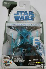 Holographic General Grievous Hasbro Star Wars The Clone Wars Figure Exclusive