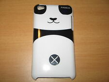 Boy Panda Hard Cover Case for iPod Touch 4th Gen New Black & White Case