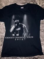 Black Kenny Chesney Brothers Of The Sun Tour Concert 2012 T Shirt Country Music