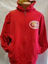 New! Mitchell & Ness Throwbacks  San Francisco 49ers Hood Jacket