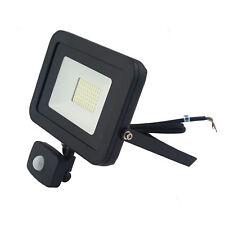 Slim very powerful Floodlight  PIR, IP 65 rated, garden, 50 watt, Black
