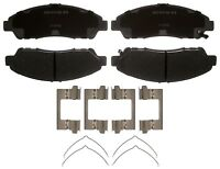 Disc Brake Pad Set-Ceramic Disc Brake Pad Front ACDelco Advantage 14D1280CHF1