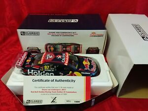 Classic Carlectables 1:18 Red Bull VF Commodore 2017 Shane Van Gisbergen