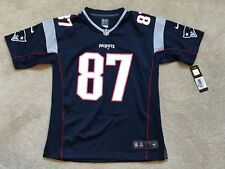 NEW Rob Gronkowski New England Patriots Nike NFL Youth MSRP $75 Jersey NWT Large