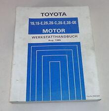 Werkstatthandbuch Toyota Motor 1S / 1S-E / 2S / 2S-C / 2S-E / 3S-GE von 1985