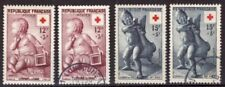 French Used Stamps 4 Number