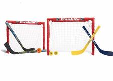 Franklin Sports Kids Folding Hockey 2 Goal Set - Nhl,Street Hockey & Knee Hockey