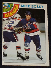 1978/79 O-PEE-CHEE /OPC - MIKE BOSSY /NEW YORK ISLANDERS ROOKIE HOCKEY CARD #115