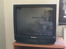 Old Black Panasonic Television Color