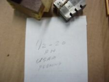 """A USED SET OF GEOMETRIC TYPE -1/2""""-20- R.H. CHASERS FOR A 9/16DS HEAD. SEE PICS"""