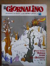 GIORNALINO n°51 1971 Nico e Pepo di Boscarato + indice  [G553]