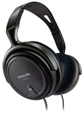 Philips Shp2000 Over-ear Corded Audio Headphones Black