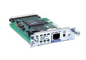 Cisco HWIC-1DSU-T1  1-Port Serial and Asynchronous High Speed WAN Interface Card