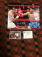 Autographed Pernell Whitaker 16x20 SSG Certified Private Signing