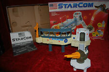 Vintage 1980s Coleco Mattel Starcom Space Force Starbase Command Headquarters HQ