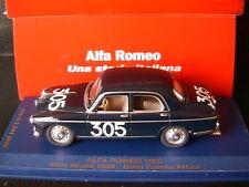 ALFA ROMEO 1900 SUPER #305 DELLA FAVERA ARTUSI 1000 MIGLIA 1954 M4 7158 1/43