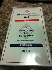 "HBW #38x1.5""(0.18mmx40mm) acupuncture needle 100 pcs"