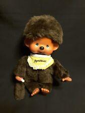 "Vintage Monchhichi 1974 Sekiguchi Brown Mattel 7"" Stuffed Pacifier ""(PRECIOUS)"""