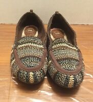 New The Sak Loafers Shoes Slip On Brown Black Gray 7.5M