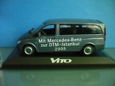 Minichamps 1:43 - Mercedes Benz Vito- Mit MB zur DTM Istanbul 2005 - selten