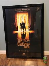 The Godfather 3 Signed Autographed Movie Poster  Al Pacino Autograph