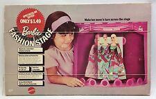 1970 Barbie Fashion Stage Nib
