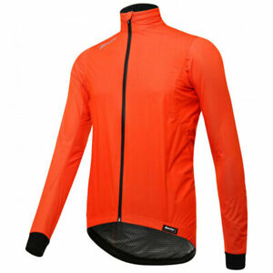 Guard 3.0 Wind & Rain Proof Cycling Jacket in Orange by Santini
