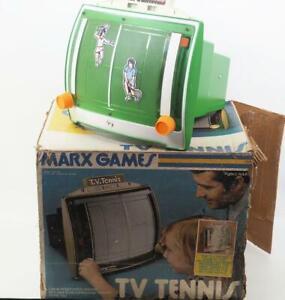 Vintage 1976 Marx Toys T.V. Tennis Game w/ Box