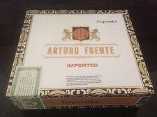 ARTURO FUENTE IMPORTED - EMPERADOR - WOOD CIGAR BOX - Guitars - Jewelry Boxes