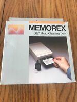"Memorex 3 1/2"" Head Cleaning Disk No. 3202-7023 Ships N 24h"