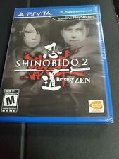 Shinobido 2: Revenge of Zen Sony PlayStation Vita *Factory Sealed!