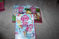 **    LOT 3 DVD DESSIN ANIME *  MY LITTLE PONY les amis c'est magiques *  neuf