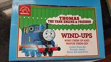 1993 Thomas & Friends Wind Ups  in display box - Britt Allcroft