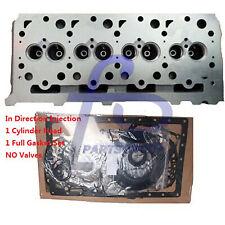 Diesel Cylinder Head & Full Gasket Set For Kubota V2003 Engine Direct Injection