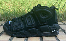 "Nike Air More Uptempo Supreme ""Suptempo"" Black US 9 EUR 42.5"