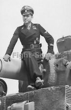 WW2 Photo Picture German Panzer Ace Waffen SS Lieutenant Michael Wittman 342 DE