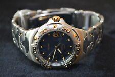 Seiko reloj hombre Vintage 8f32-0370 Sll182 Perpetual calendario