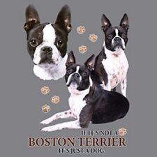 Not a Boston Terrier Just a Dog S/M-L/XL- 2X/3XL Cover Up Nightshirt