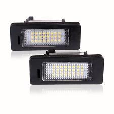 2x LED License Plate Number Light Lamp for BMW E90 M3 M5 E92 E70 E71 E39 E60 E92
