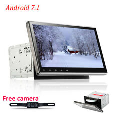 "10.1""HD Android 7.1 Nougat 2 Din Car DVD GPS Stereo Radio Player Wifi 3G/4G+cam"