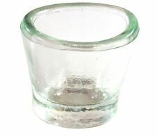 Pro-Optics Glass Eye Wash Cup - Glass Eyewash Cup with Improved Beveled Design
