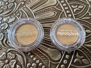 (2) Urban Decay Moondust Eyeshadow In Fool's Gold .035oz 1g = 0.07oz > FULL SIZE