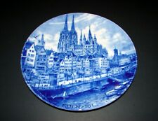 Kaiser W.Germany Koln/Rh City Stadteteller Collectible Plate Hans Liska