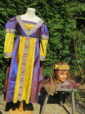 Costume Robe Théâtre Déguisement Epoque Médiévale Renaissance Enfant Fille Femme