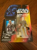 Han Solo Hoth Gear Harrison Ford Star Wars Power of the Force 1995 Orange Card
