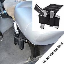 Car Under Seat Pistol Holder Handgun Holster Gun Case Magazine Pouch Ammo Bag