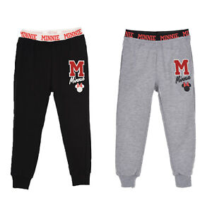 Minnie Mouse Girls Jogging Bottoms | Officially Licensed