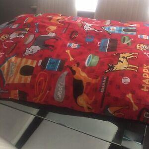 Large Dog Bed - Washable Zipped Mattress Cushion Luxury
