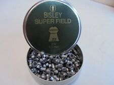 Bisley superfield 5.5 mm/.22 Cal. x 200 Lata de airifle Pellets