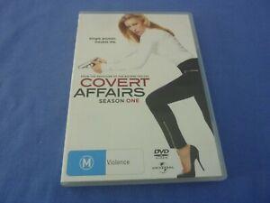 Covert Affairs DVD 3-Disc Season 1 R2,4 Free Postage